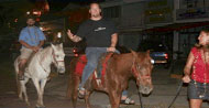 Horses to Beer Planet, Akers & Schuster ride!